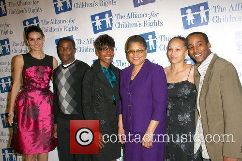 Angie Harmon and guests The Alliance for Children's...