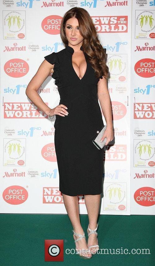 Lucy Pinder Children's Champions 2009 held at the...