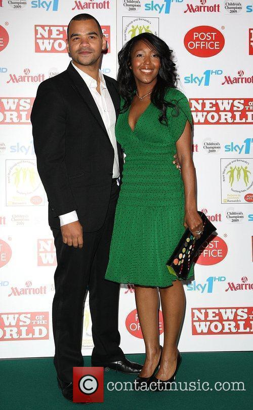 Michael Underwood and Angellica Bell Children's Champions 2009...