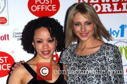 Cat Simmons & Ali Bastian Children's Champions 2009...