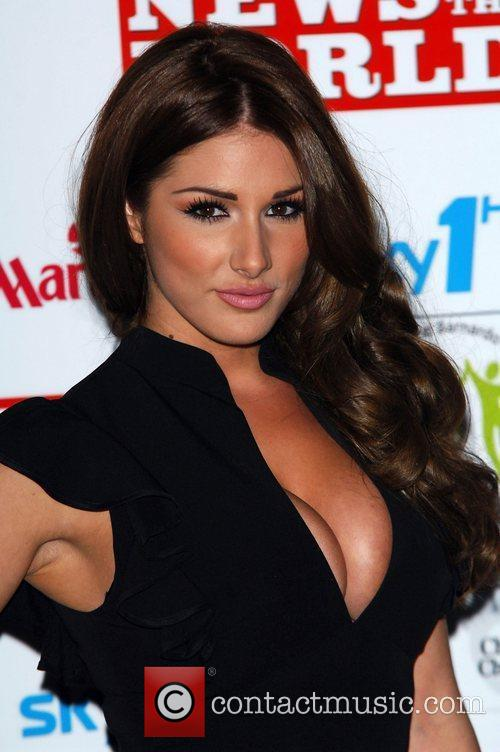 Lucy Pinder and Grosvenor House 1