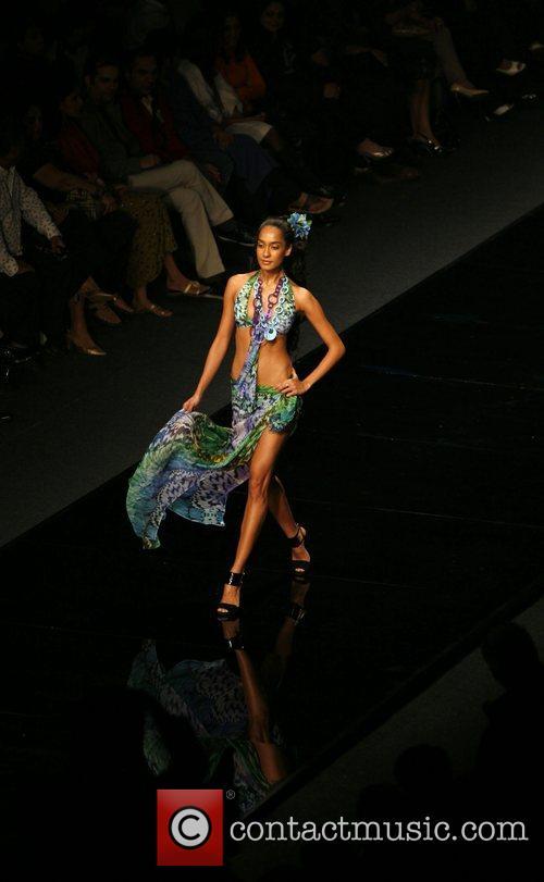 Designer Caroline Charles Chivas fashion tour New Delhi,...