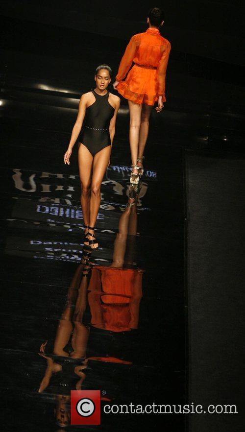designer Danielle Scutt Chivas fashion tour New Delhi,...