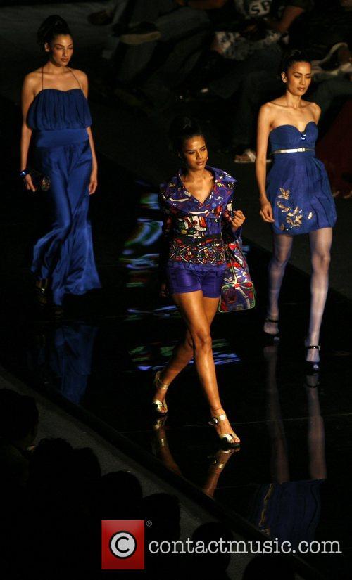 Designer Mandira Wirk Chivas fashion tour New Delhi,...