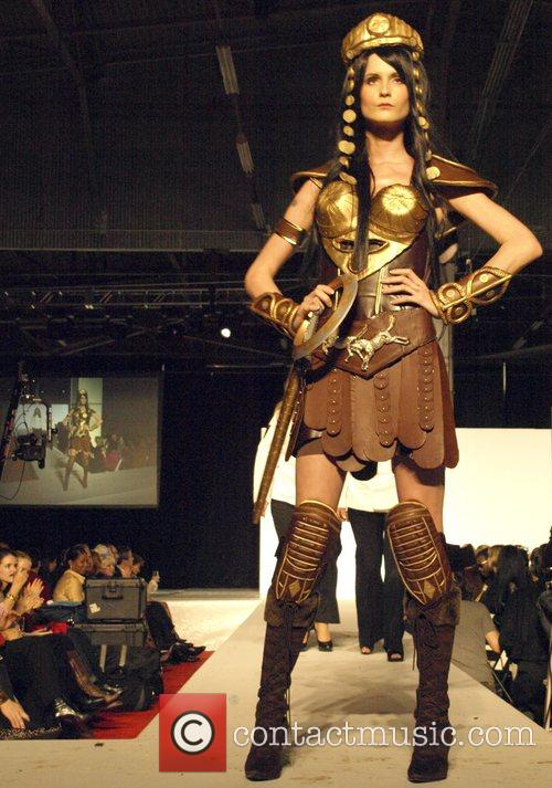Chocolate Fashion Xena Warrior Princess By Joelle Mahoney 9
