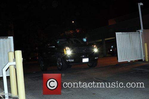 Chris Brown, Clive Davis and Rihanna 5