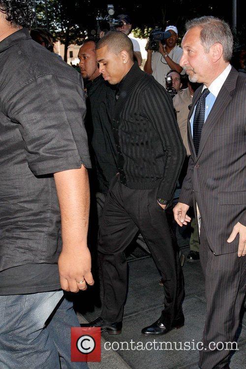 Chris Brown and Rihanna 8