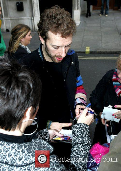 Chris Martin leaves Absolute Radio after performing an...