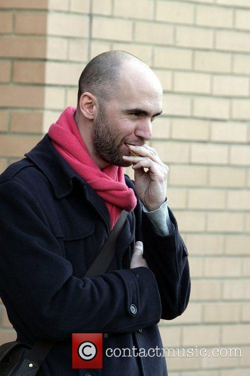 Dominic Byrne leaves O'Neills Pub in Swindon after...