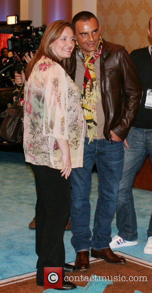 Christian Audigier and guest World famous Fashion designer...