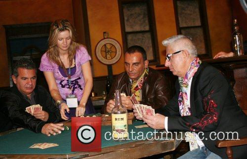 Christian Audigier and Guests World famous Fashion designer...