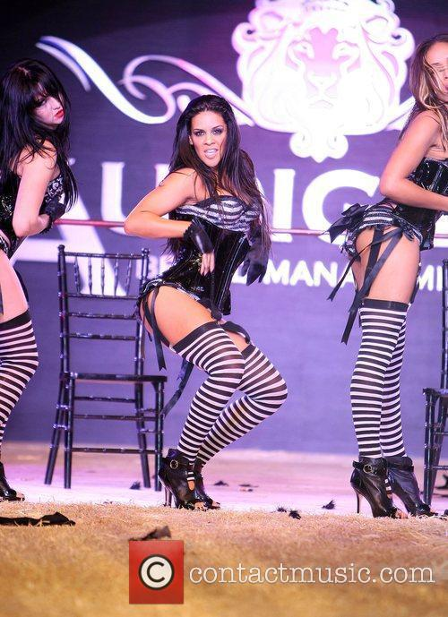 Dancers World famous Fashion designer Christian Audigier presents...