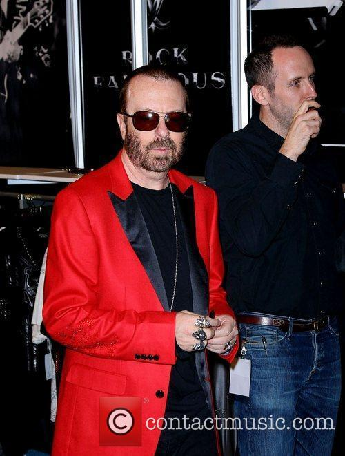 Dave Stewart World famous Fashion designer Christian Audigier...