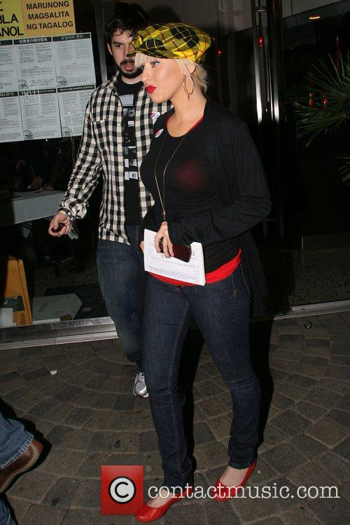 Christina Aguilera and husband Jordan Bratman go out...