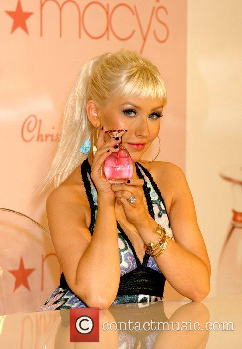 Launches her new perfume 'Inspire' at Macy's department...