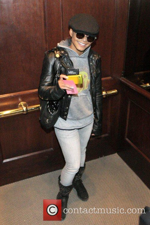 Christina Milian  visit a medical centre on...