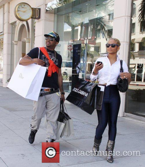 Christina Milian and Las Vegas 2