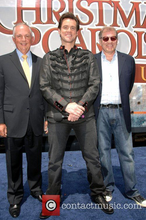 Dick Cook, Jim Carrey and Walt Disney 1