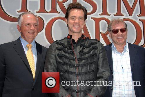 Dick Cook, Jim Carrey and Walt Disney 4
