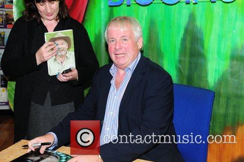 Christopher Biggins signs copies of his new book...