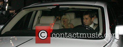 Christina Aguilera  leaves Bar Marmont in a...
