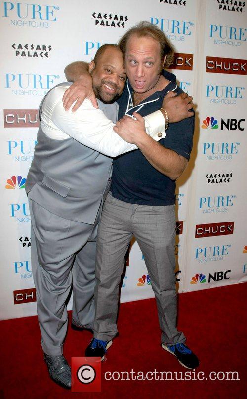 Mark C Lawrence and Scott Krinsky Pure nightclub...