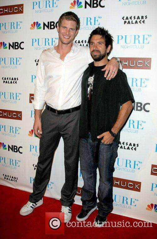 Ryan McPartlin and Joshua Gomez Pure nightclub invited...