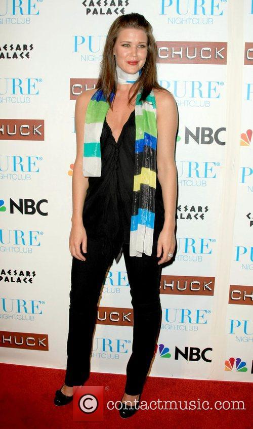 Sarah Lancaster Pure nightclub invited the cast of...