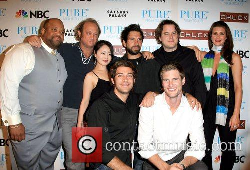 The cast of Chuck Pure nightclub invited the...