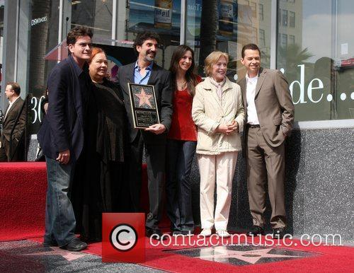 Hollywood Walk of Fame ceremony for Chuck Lorre