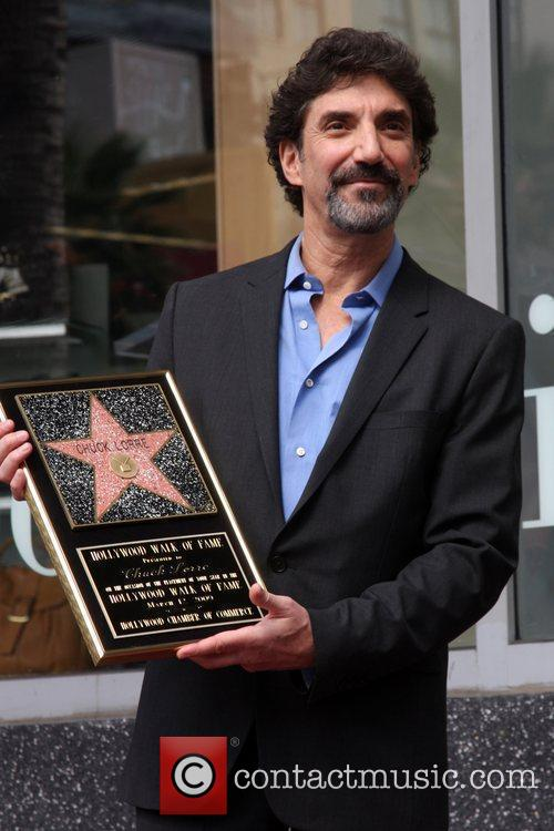 Chuck Lorre Hollywood Walk of Fame ceremony for...