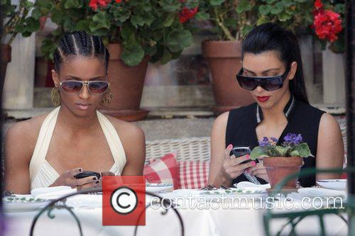 Ciara and Kim Kardashian 14