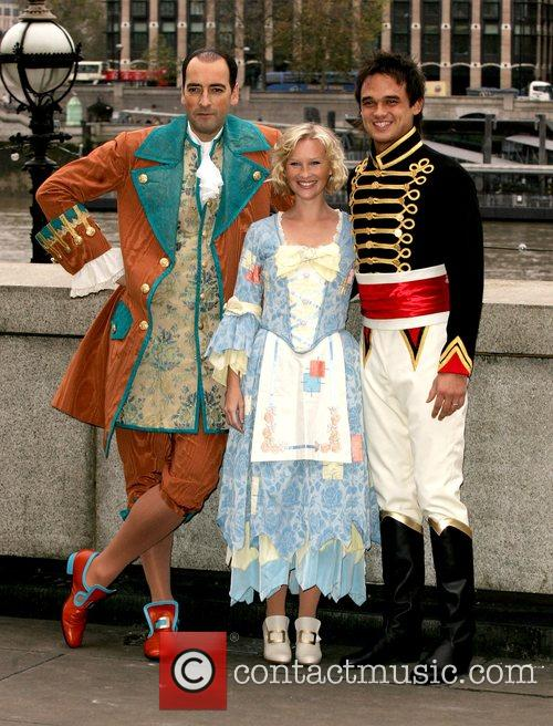 Alastair McGowan, Joanna Page and Gareth Gates attend...