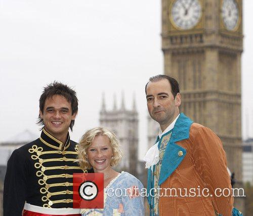 Gareth Gates, Joanna Page and Alastair McGowan attend...