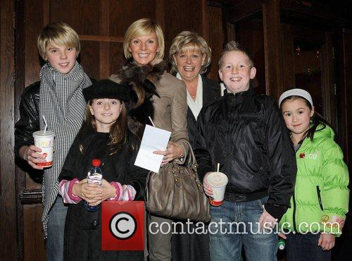 Lisa Duffy with son Jordan, daughter Mia and...