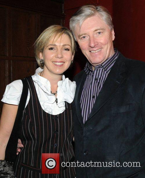 Pat Kenny and wife Kathy The Cinderella Gala...