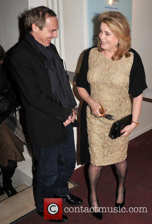 Catherine Deneuve and Arnaud Desplechin