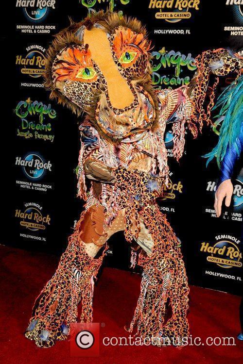 Opening of 'Cirque Dreams: Jungle Fantasy' at Hard...