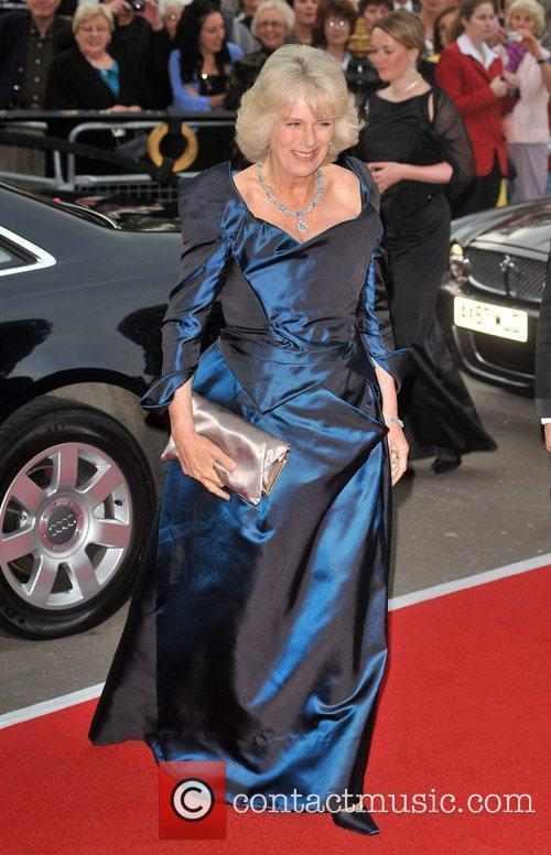 Camilla, The Duchess of Cornwall Classical Brit Awards...