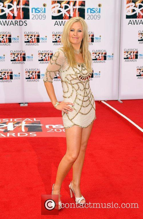 Alison Balsom Classical Brit Awards 2009 held at...