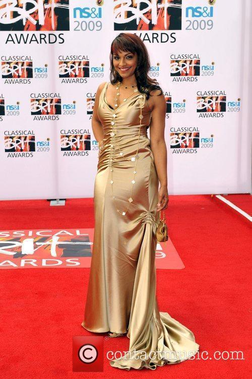 Danielle Deniese Classical Brit Awards 2009 held at...