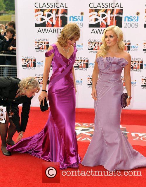 Classical Brit Awards 2009 held at the Royal...