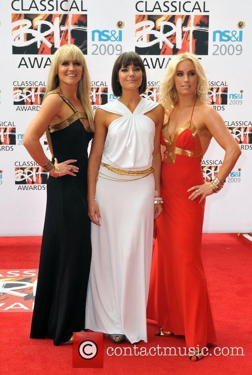 Elysium 111 Classical Brit Awards 2009 held at...