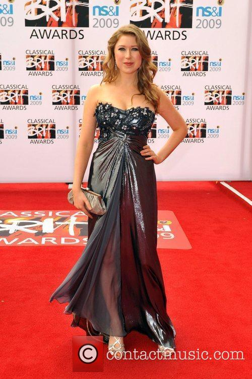 Hayley Westenra Classical Brit Awards 2009 held at...