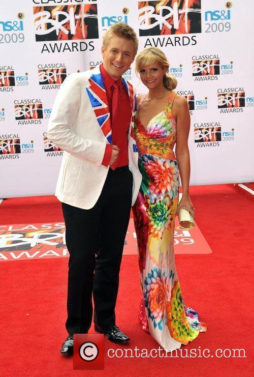 Jonathan Ansell and guest Classical Brit Awards 2009...