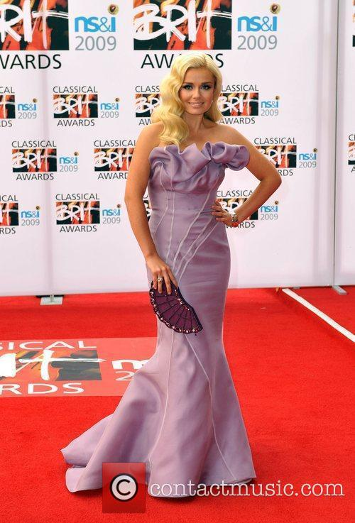 Katherine Jenkins Classical Brit Awards 2009 held at...