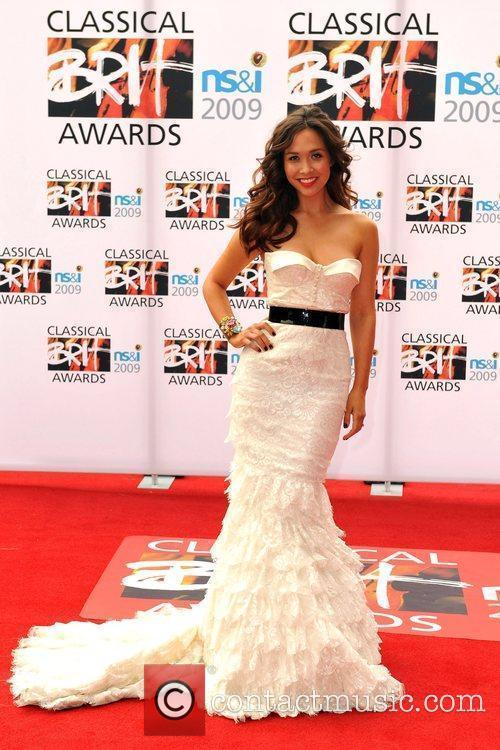 Myleene Klaas Classical Brit Awards 2009 held at...