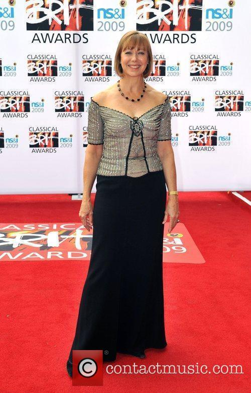 Jenny Agutter Classical Brit Awards 2009 held at...