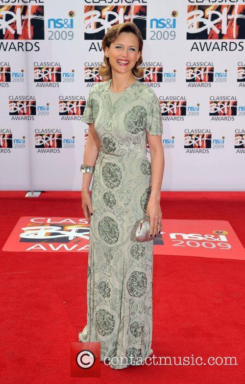 Katie Derham Classical Brit Awards 2009 held at...