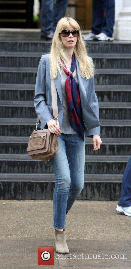 Claudia Schiffer out and about in Notting Hill...